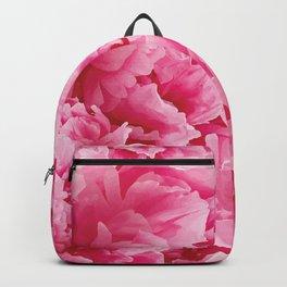 Scarlet peonies Backpack