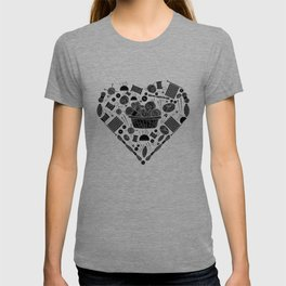 I Love Knitting | Wool Needle Heart Sewing Hobby T-shirt