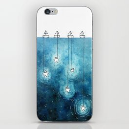 Fishing for Stars iPhone Skin