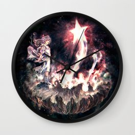 Where Wishes Are Born Wall Clock