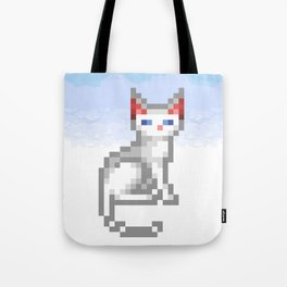 Transcendence Cat Tote Bag
