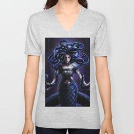 Goddess of snakes Unisex V-Neck