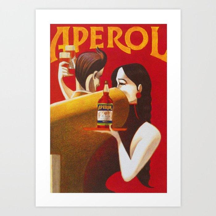Canvas APEROL SPRITZ Art print POSTER