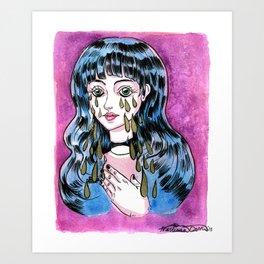 These Tears Art Print