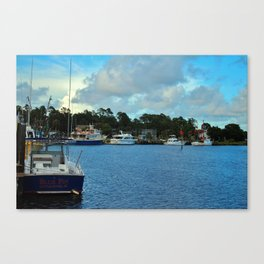 Calabash Waterfront Canvas Print