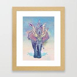 Spirit Animal - Elephant Framed Art Print