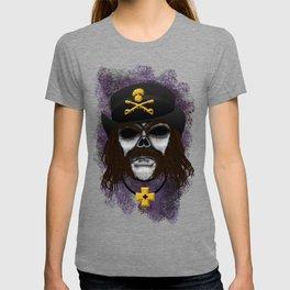 Lemmy style Errorface skull T-shirt