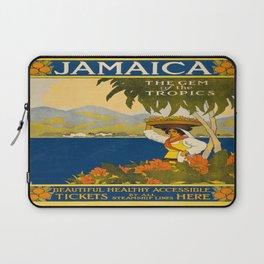 Vintage poster - Jamaica Laptop Sleeve