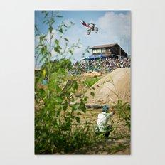 COD Double Grab in Fujisawa, Japan Canvas Print