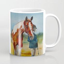Horse and Rider Coffee Mug