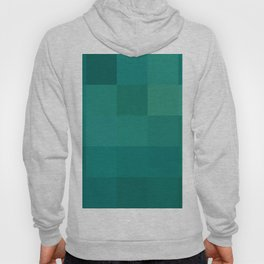 BLOCKS - GREEN TONES - 1 Hoody