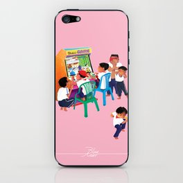 Our game station iPhone Skin