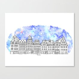 Splash | Wroclaw Canvas Print