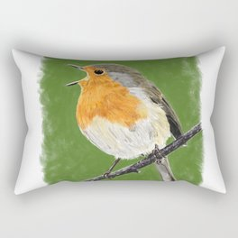 Robin 02 Rectangular Pillow