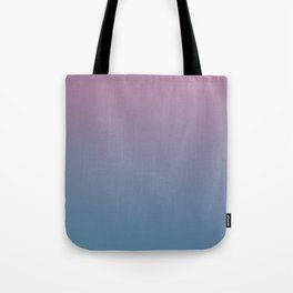 YOUTHFUL WATERS - Minimal Plain Soft Mood Color Blend Prints Tote Bag
