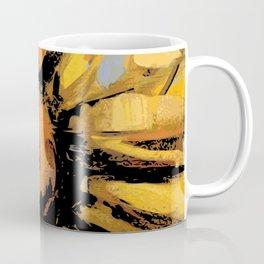 Sunflower art print Coffee Mug