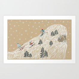 Ole Man Winter Art Print