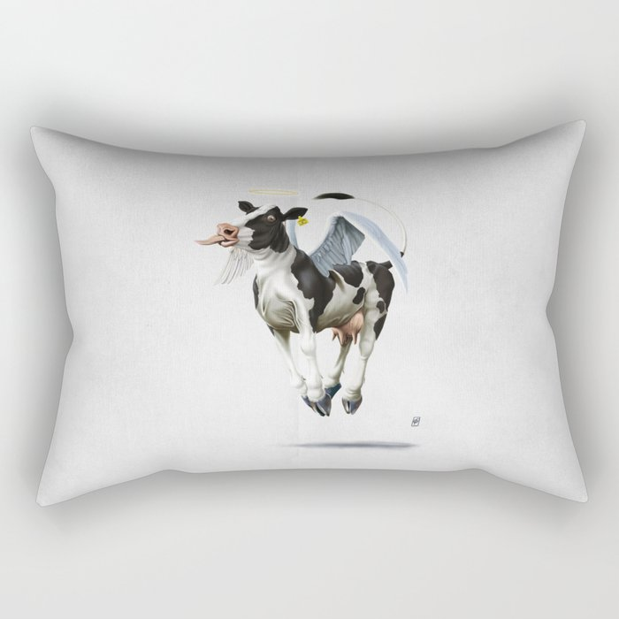Holy Cow (wordless) Rectangular Pillow