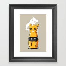 Matryoshka Monster Framed Art Print