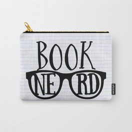 Book Nerd (lined paper) Carry-All Pouch
