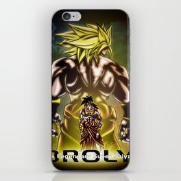 The Incredible Broly iPhone Skin