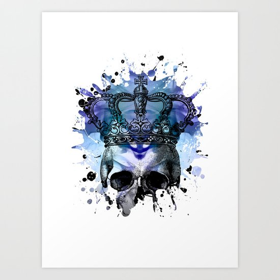 Why Be Blue? Art Print