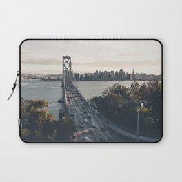 Bay Bridge - San Francisco, CA Laptop Sleeve
