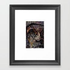 If Only Trees Could Speak Framed Art Print