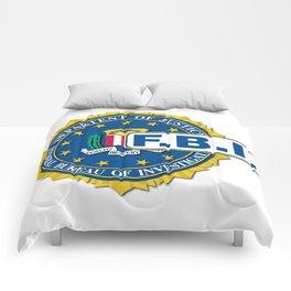 FBI Seal Mockup Comforters