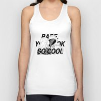 matty healy Tank Tops featuring BABE, YOU LOOK SO COOL by crystaltaysm