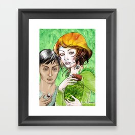 Pagan magic Framed Art Print