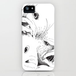 Grouper And Bass - M iPhone Case