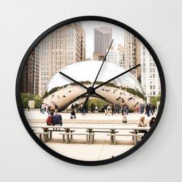 Bean Wall Clock