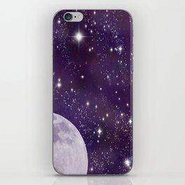Cosmic Moon  iPhone Skin