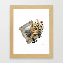 hmm Framed Art Print