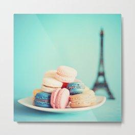 Paris and sweets Metal Print
