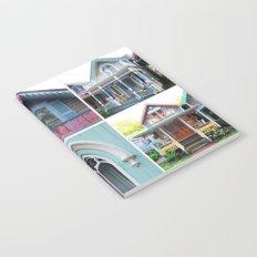 Pretty Cottages all in a Row Notebook