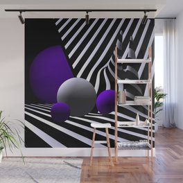 games with geometry -7- Wall Mural