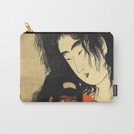 Kitagawa Utamaro - Top Quality Art - Yamanba and Kintaro, Glass Carry-All Pouch