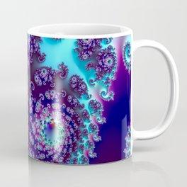 Jewel Tone Fractal Coffee Mug