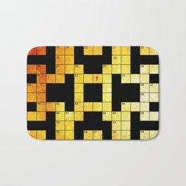 crossword puzzle Bath Mat