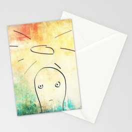 Confused Little Jesus Stationery Cards