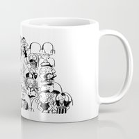 """theatre Mugs featuring Theatre  """"Opening Night"""" by Brian Hampton"""