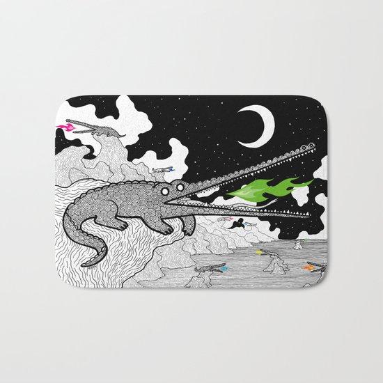 Crocodiles Bath Mat