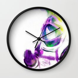 Astro Girl - Slight of Hand Wall Clock