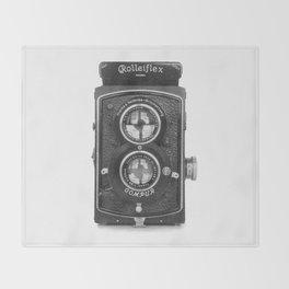 RolleiFlex Throw Blanket
