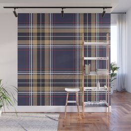 Tartan Seamless Pattern - A funny gift for someone who loves Outlander,  Scotland, Scottish Clan Tartan and Celtic music Wall Mural