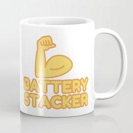 BATTERY STACKER - funny job gift Coffee Mug