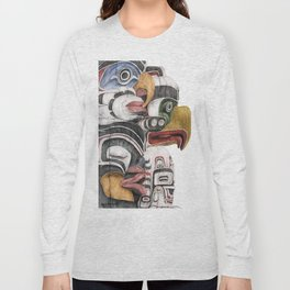 Stanley Park Totems Long Sleeve T-shirt