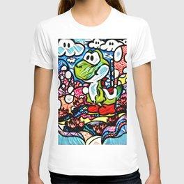 Yoshi Zentangle T-shirt